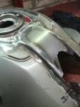 Moto Guzzi Tank Stretch