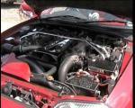 Twin Turbo Supra Engine Bay